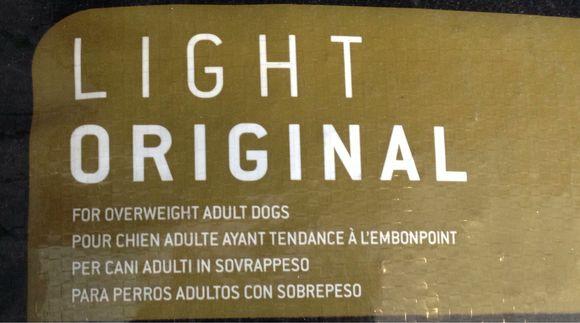 Mat till överviktiga hundar...